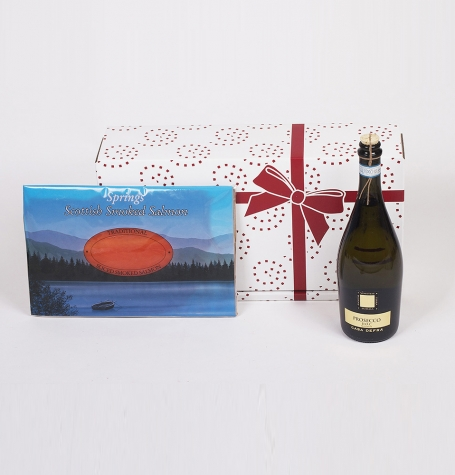 7.2b. Prosecco & Smoked Salmon Gift Box – SC-3  Low-Res