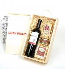 Wine, Cheese & Pate Crate