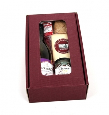 Sheep's Cheese & Wine Gift Box