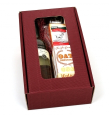 Goat's Cheese & Wine Gift Box