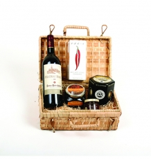 "The Gourmet ""Claret & Cheddar"" Hamper"