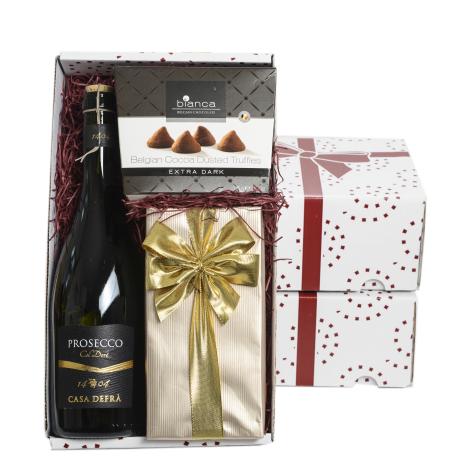 ##Ac. Prosecco, Chocolates & Truffles Gift Box – CT-13(Hi-Res)