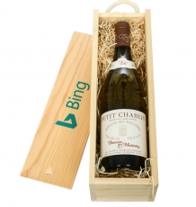 Wine in a Wooden Crate -<br>Petit Chablis