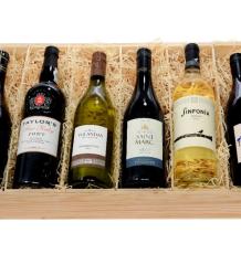 Six-Bottle Wine Crate