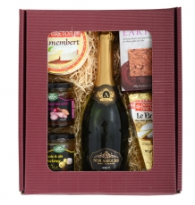 Soft French Cheese & Wine Gift Box